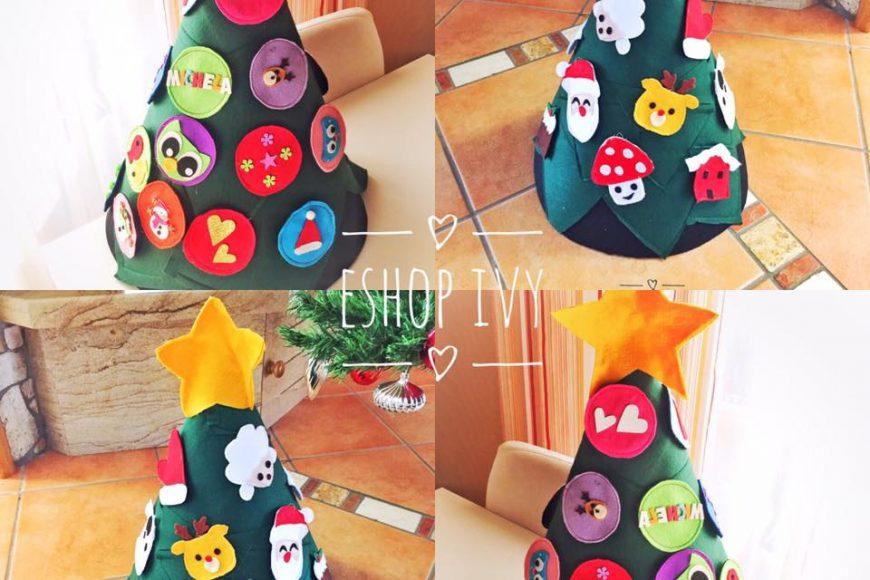 L'albero di Natale Montessori… L'alberello indistruttibile a prova di bimbo