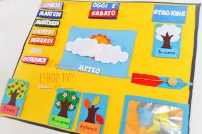 """Ecco come spiegare le stagioni ai bambini """"Il calendario delle stagioni Montessori"""""""