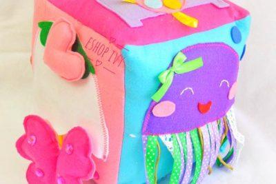 Cubo sensoriale montessoriano… attività montessori per i piccolissimi